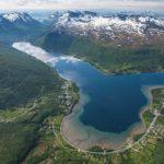 Ramfjord fra lufta fotograf Jens K Nilsen
