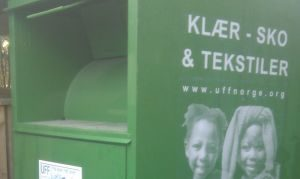 Ny Type UFF Tøjinsamlings Container